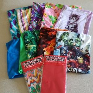 Other - Bundle of Stretchable Cloth Bookcovers